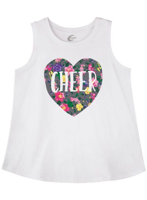 Cheer tank top gift