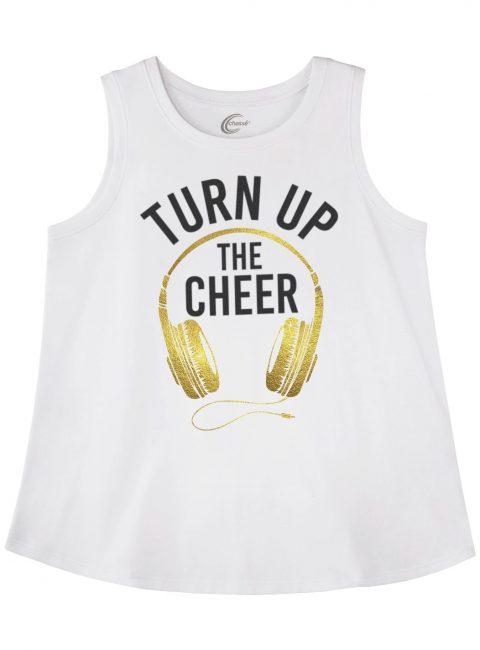 Turn Up the Cheer Tank Cheer Gift