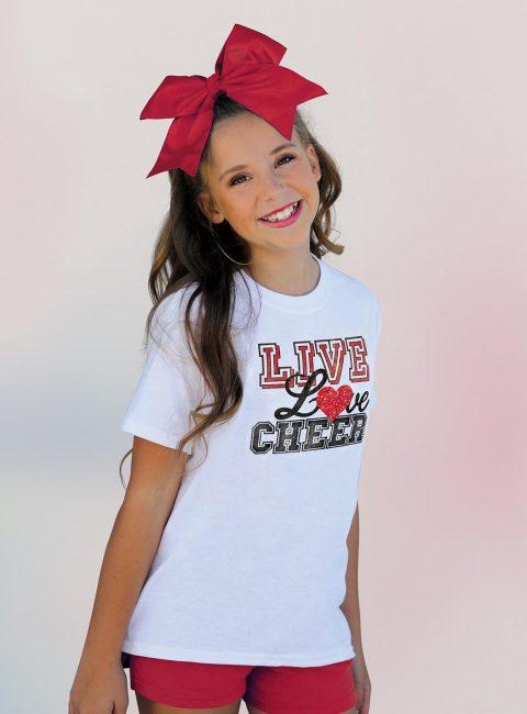 Live Love Cheer Tee Gift